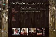 Referenz Website Die Weinbar Fasanenstraße, Berlin-Charlottenburg - Internet-Service Berlin - Webdesign, Homepage-Erstellung, Online-Shop-Erstellung