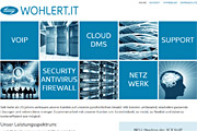 Referenz WOHLERT IT, Berlin - Internet-Service Berlin - Webdesign, Homepage-Erstellung, Online-Shop-Erstellung