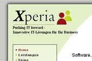 Referenz Xperia Berlin - Referenzen Internet-Service Berlin - Webdesign, Homepage-Erstellung, Online-Shop-Erstellung